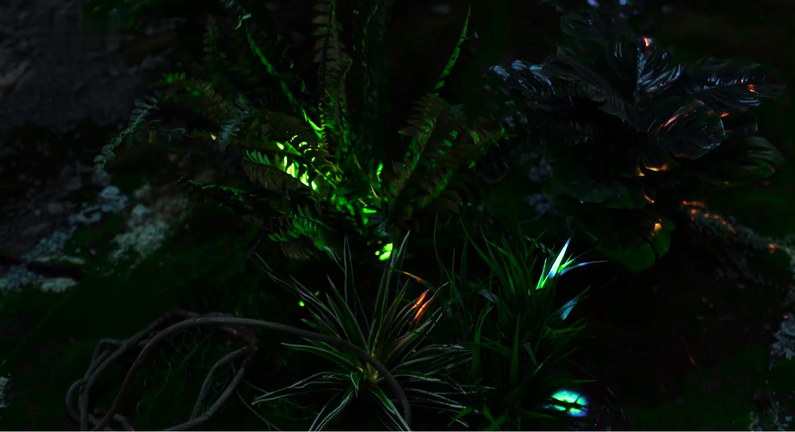 神经网络森林:野餐   -大型沉浸式新媒体装置